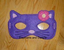 Cat / Kitty Mask 5×7 Design file
