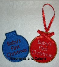 Baby's first Bauble Design file