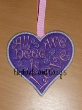 All We Need Is Love Design File