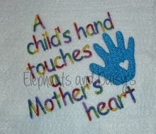 Touches Heart Design file