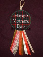 Happy Mothers Day Rosette Design file