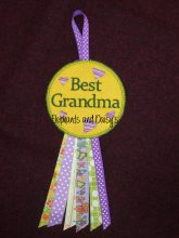 Best Grandma Rosette Design File