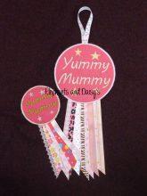 Yummy Mummy Rosette Design file