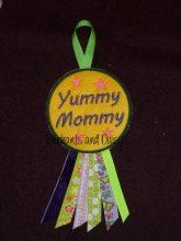 Yummy Mommy Rosette Design file