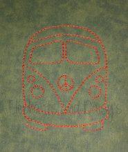Camper van Redwork design file
