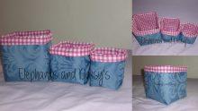 Fabric Baskets Design files