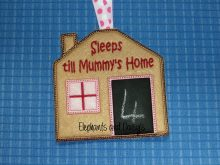 Sleeps till Mummy's / Mommies Home design file