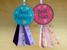 Best Nanny Rosette Design file