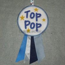 Top Pop Rosette Design file