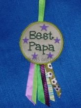 Best Papa Rosette Embroidery Design files