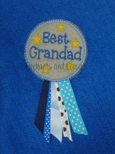 Best Grandad / Granddad Rosette Design
