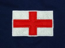 England Flag Appliqué design file