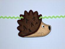 Hedgehog Banner Design file