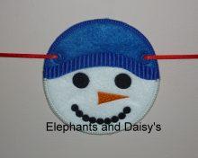 Snowman Face Design file