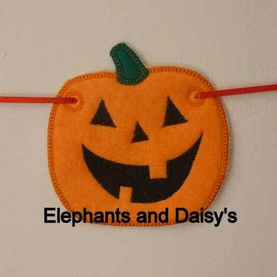 Pumpkin Banner Design file