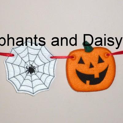 Halloween Banner set 4×4 Design files