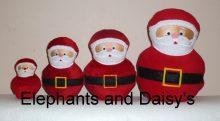 Santa Stuffies Design file