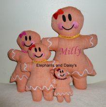 Gingerbread Girl Stuffies design file
