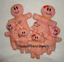 Gingerbread Stuffies Set Design file