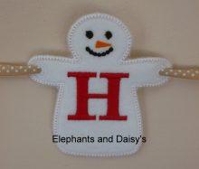 Christmas Snowman Design file