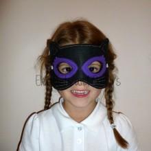 Black Cat Mask Design file