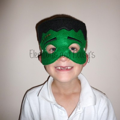 Frankenstein Mask Design file