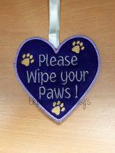 Wipe Paws Design file