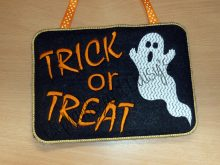 Trick Or Treat Sign Design file