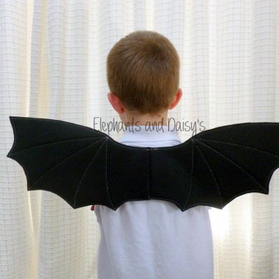 Childs Bat Wings Design file