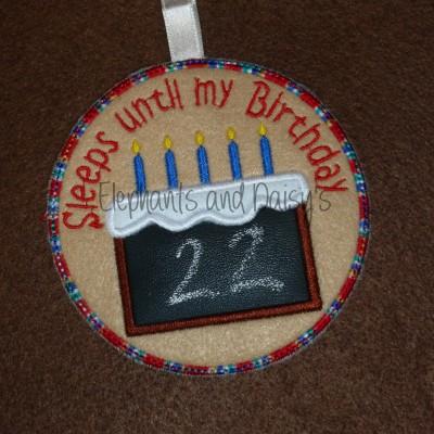 Birthday Countdown Design file
