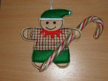 Elf Candy Cane Holder Design file