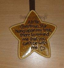 A Little Christmas Star Design file