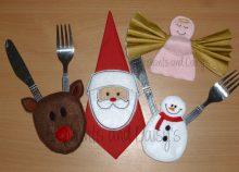 Christmas Table Set design files