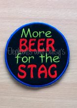 More Beer For The Stag Design file