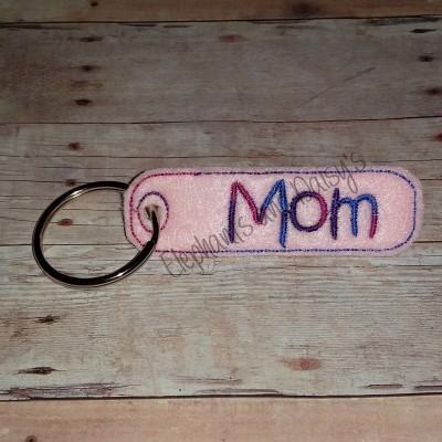 Mom Keyring Design file