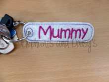 Mummy Keyring Design file