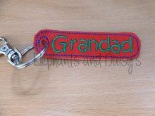 Grandad Keyring Design file