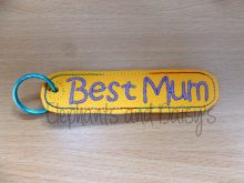 Best Mum Keyring Design file