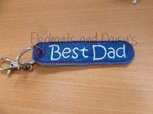 Best Dad Keyring Design file