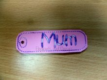 Mum Keyring Design file