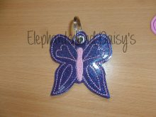 Butterfly Keyring Design file