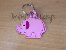 Elephant Keyring Design file