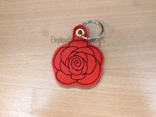 Rose Keyring Design file