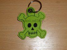 Skull Keyring Design file