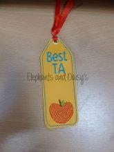 Best TA Bookmark Design file