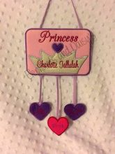 Princess Birth Hanger Design file