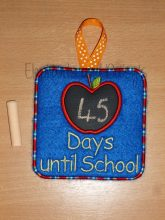 Days Until School Design file