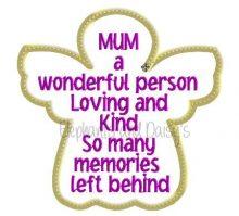 Mum Angel Design file