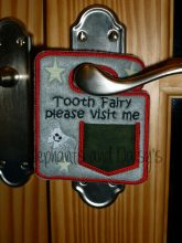 Tooth Fairy Door Hanger 4×4 Design file