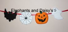 Halloween Banner Set 5×5 Design files